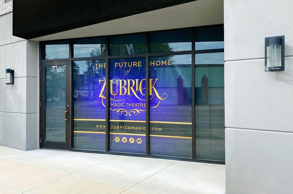 Zubrick Magic Theatre Storefront