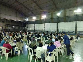 Encontro com as famílias garante alegria no Recanto Santo Antônio