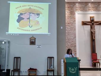 Clínica Social promove bate-papo sobre o Setembro Amarelo