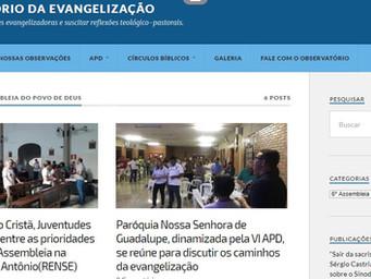 Assembleia Paroquial é destaque no Observatório da Evangelização