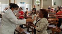 Emoção marca o retorno presencial dos fiéis às celebrações