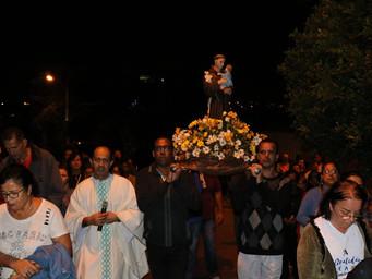 Procissão em honra à Santo Antônio