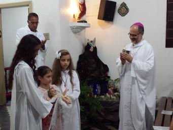 Dom Mol celebra Natal no Eremitério Nossa Senhora de Belém