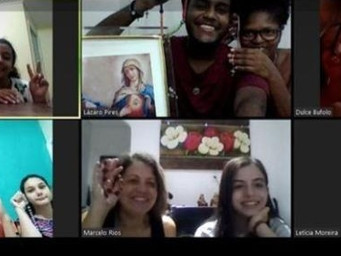 Grupos mantém espiritualidade com ajuda de plataformas on-line