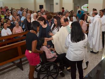 Idosos e Enfermos participam da Festa de Santo Antônio
