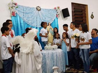 MEJ presta homenagens à Nossa Senhora