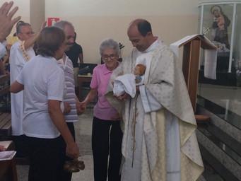 Comunidade celebra Natal e relembra criação da Paróquia