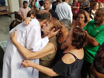 Emoção e agradecimento marcam celebrações de envio do Pe. Jorge