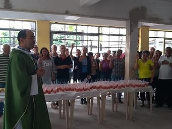 Oração e Partilha marcam 02 anos da Posse do Pe. Jorge