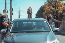 Imagem de Santo Antônio visita as ruas ruas da Paróquia no dia do Padroeiro
