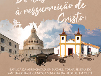 """Santuário da Padroeira de Minas ganha título de """"Basílica Irmã"""" da Igreja da Anunciação, em Israel"""