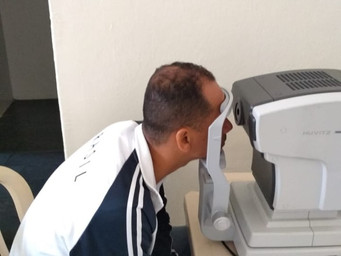 Paróquia realiza Ação Social para exame oftalmológico