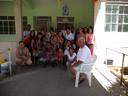 Solidariedade: Crisma visita asilo e leva doações da comunidade