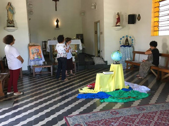 Missionários participam de retiro no Eremitério