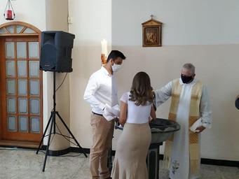 Paróquia retoma celebração de Batizados