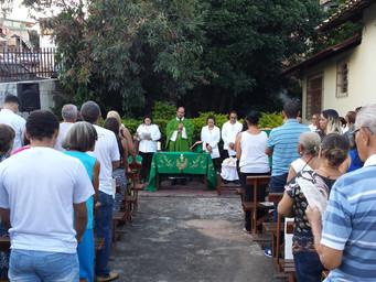 Missa do Padroeiro é celebrada no Eremitério