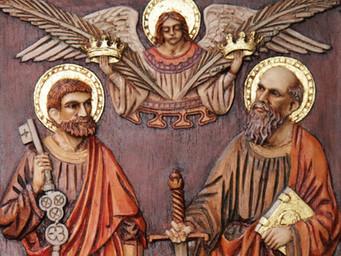Pedro e Paulo; Pilares da Igreja!