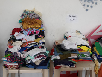 Bazar na Paróquia: solidariedade e bons negócios
