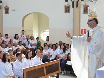 """""""Animem-se"""", pede Bispo em Visita Pastoral"""