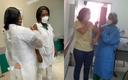 Paroquianas que atuam em hospitais são vacinadas contra Covid