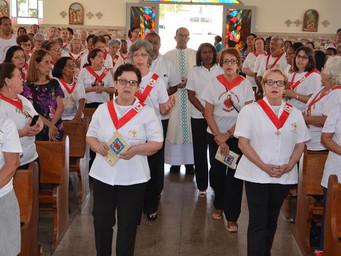 Apostolado participa de encontro da forania