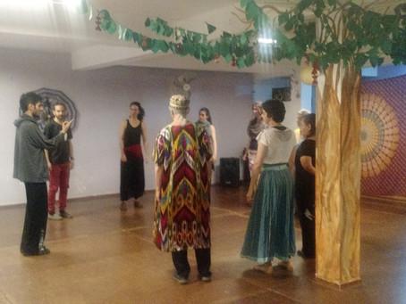 Dança Kurda com Arjen Brusk