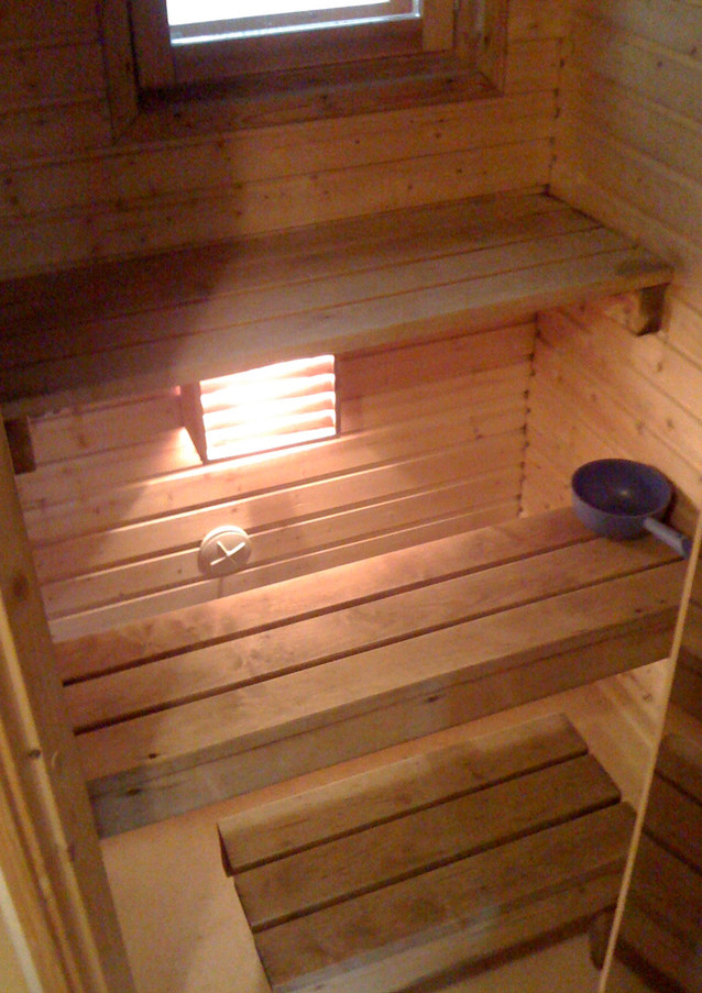 Sauna Chalet traditionnel finlandais