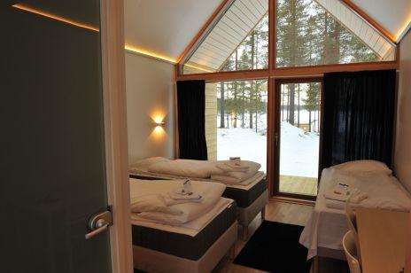 Chambre Finlande hiver confort