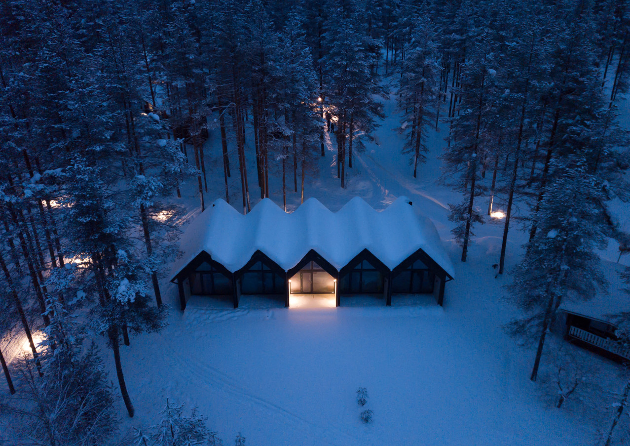 Norwide Finland by night