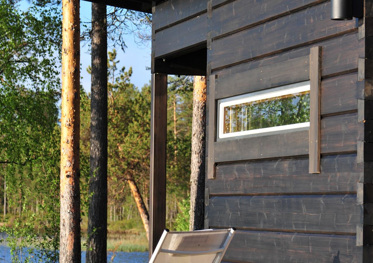 sauna à bois