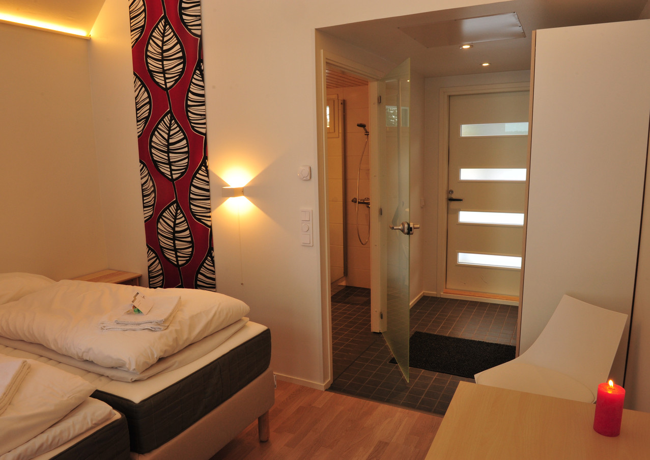 Chambre confort en Laponie