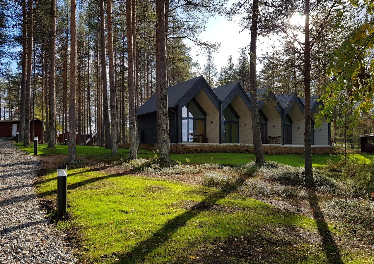 Hotel en Finlande, au coeur de la nature