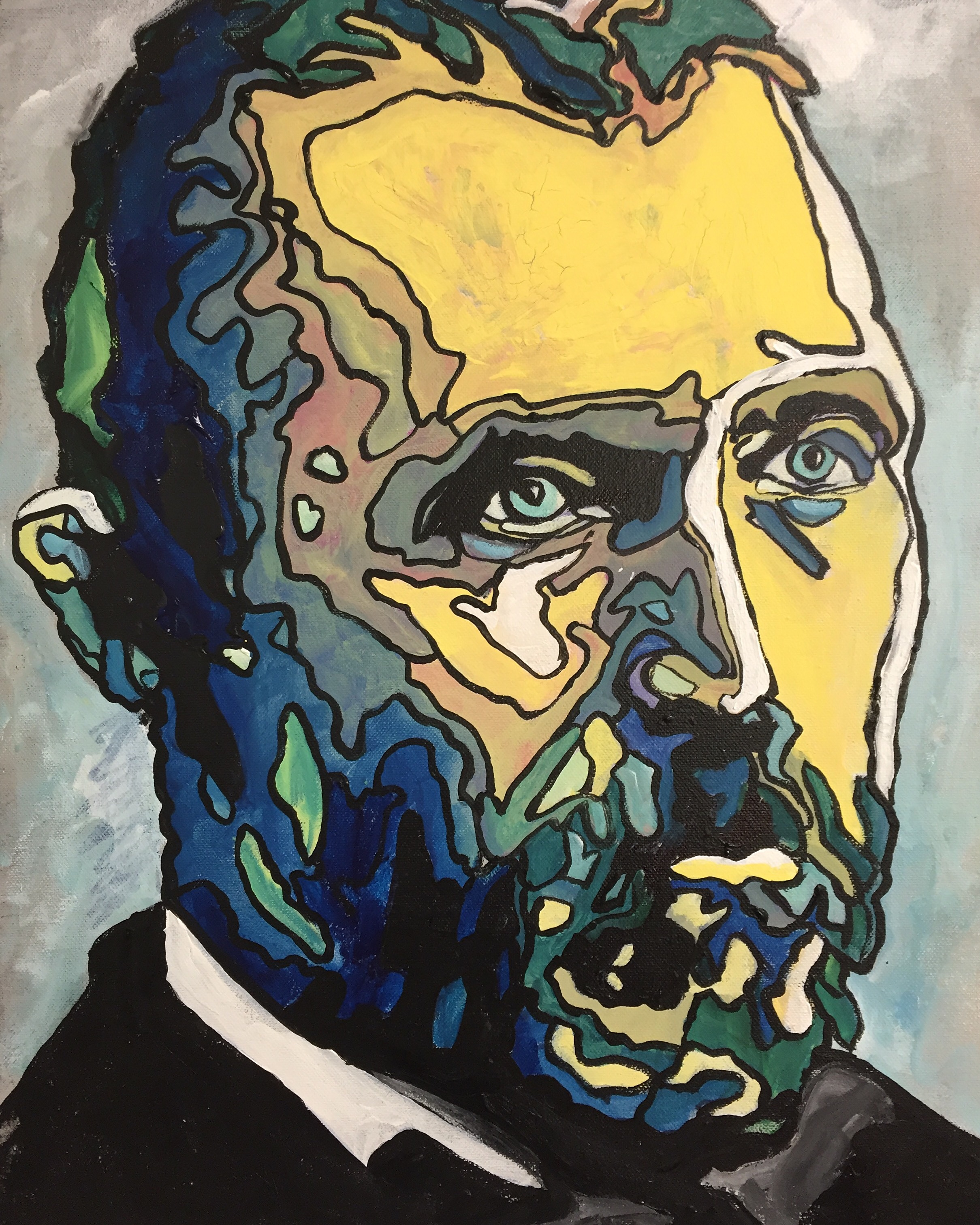 Vincent Van Gogh by james Ruddle