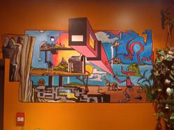 James Ruddle Mural Ossington