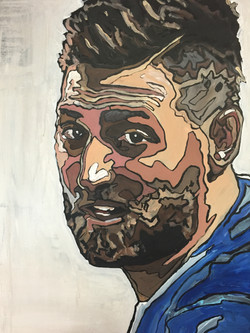 Kevin Pillar by james ruddle
