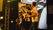 7 Minute Speed Painting During Worship @ RKLS Movement
