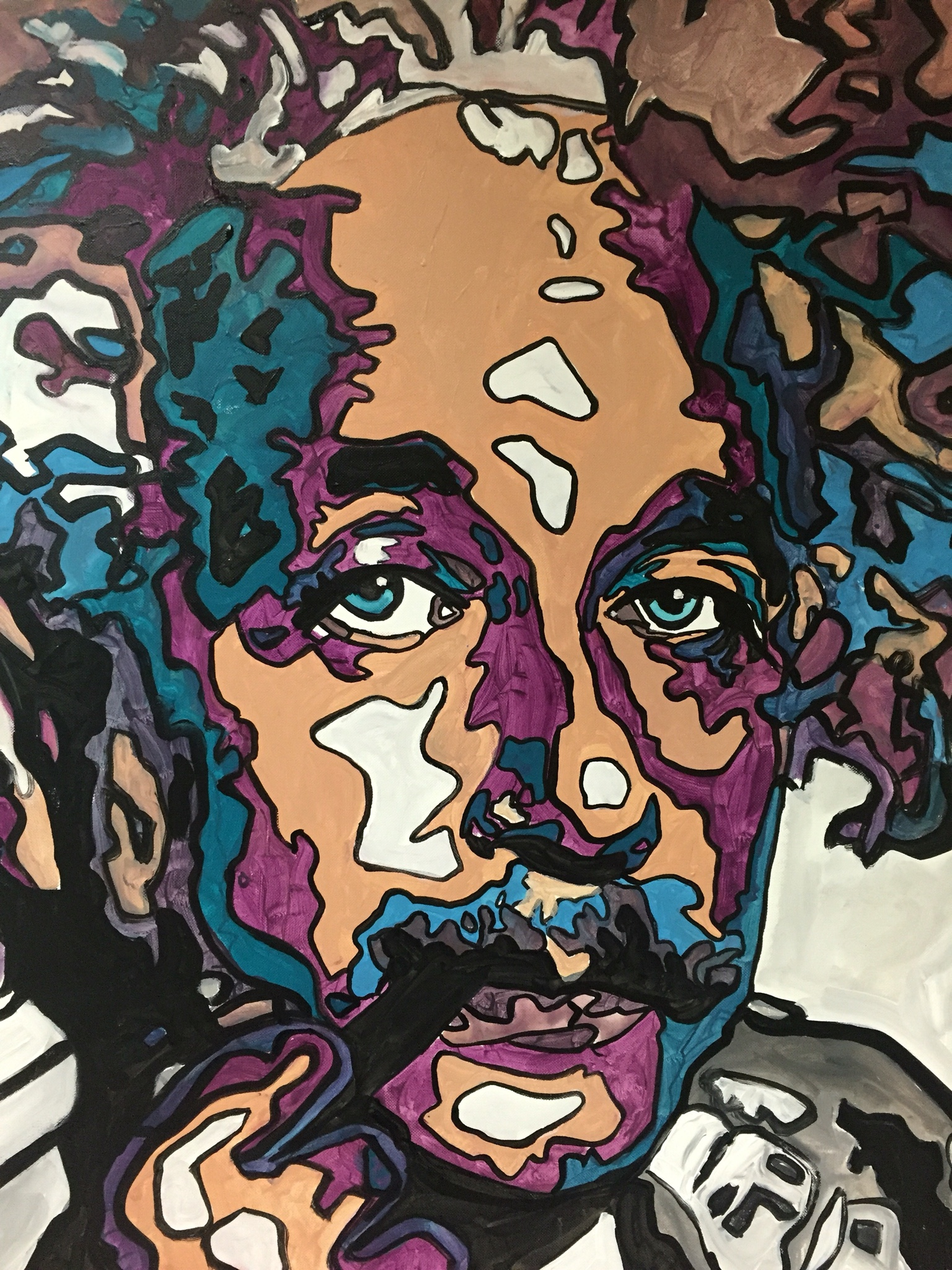 Albert Einstein by james Ruddle