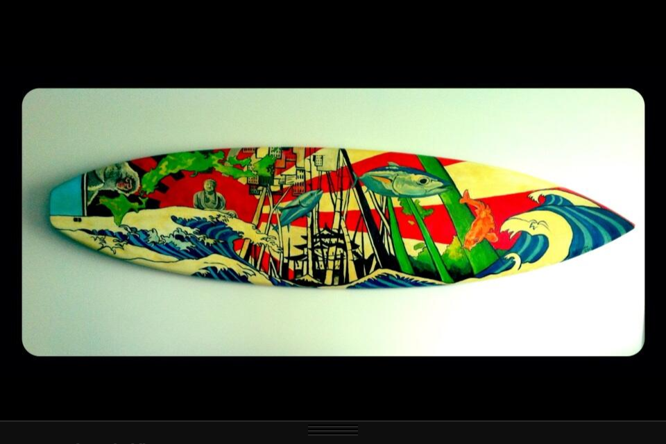Japanese Style Surf Board