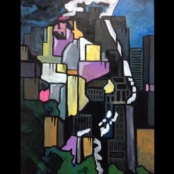 #jesus #graffiti #art #urbanart #lightoftheworld #allovertheearth Jesus brings hope to the city!!! W