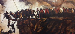 james Ruddle Painting of 300