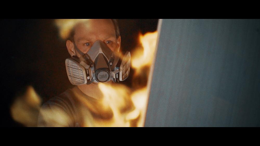 james Ruddle fire painter