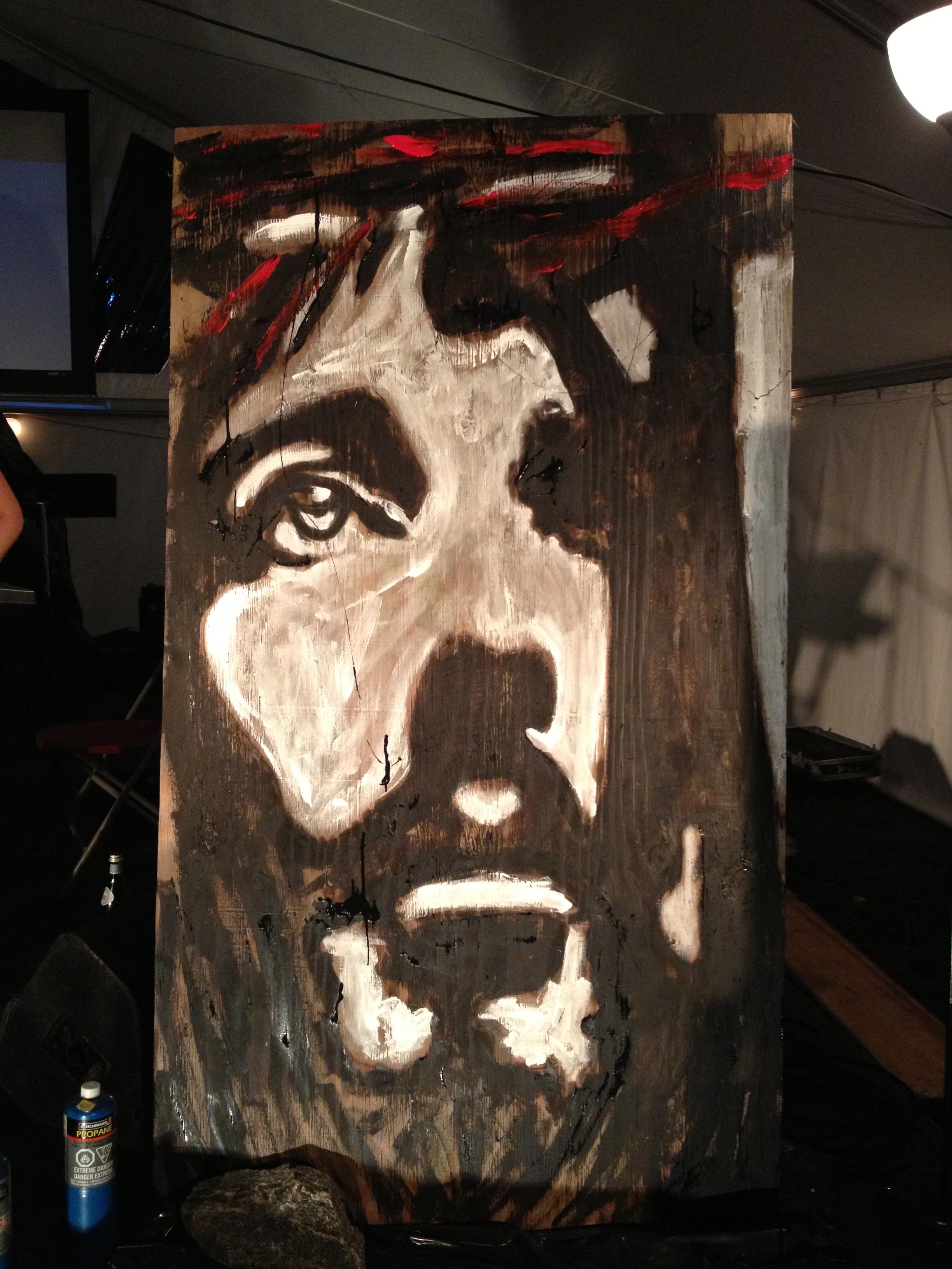 Jesus Speed Painting