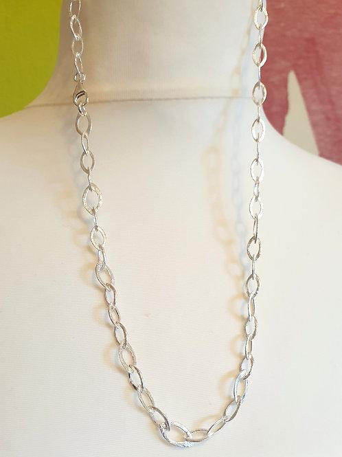 Kollektion FORMEN, modische Halskette Silber