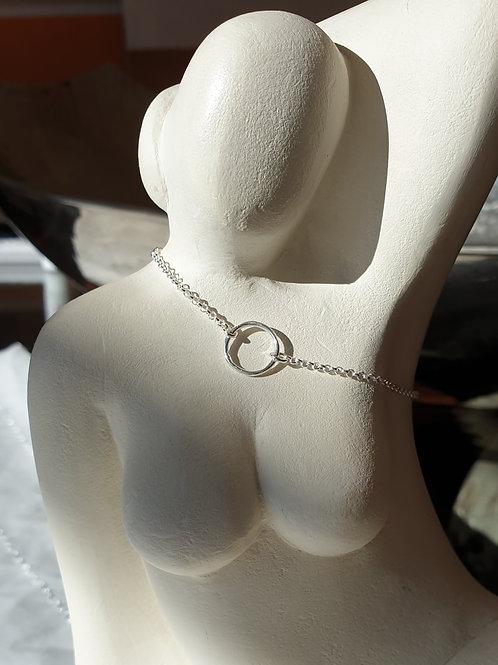 Glücksbringer-Armband aus Silber