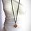 Thumbnail: Modisch-elegante Halskette mit Jaspis