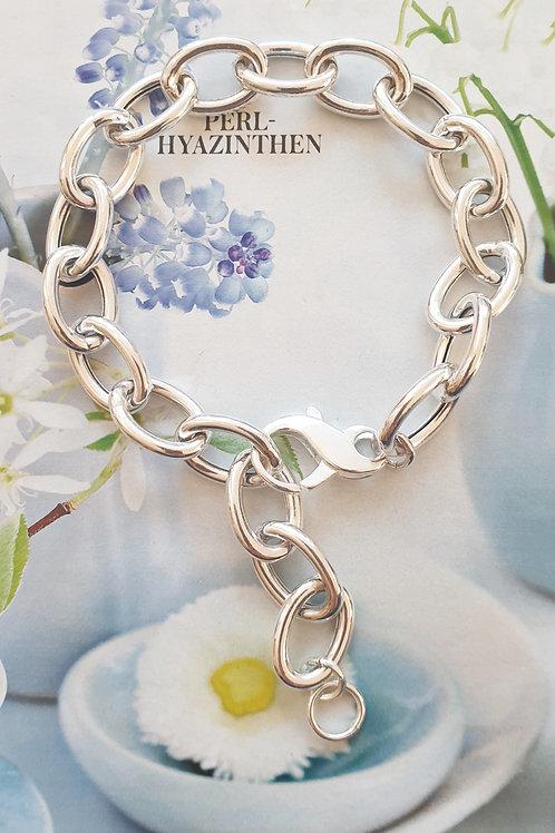 Modisch-zeitloses Armband Silber