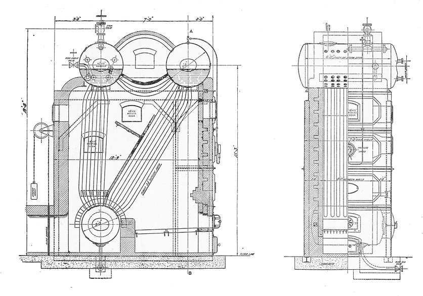 Stirling_three-drum_watertube_boiler_(Ra