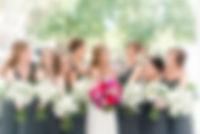 bride, bridesmaids