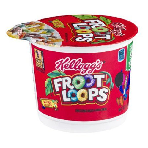 Single Serve Froot Loops Cereal