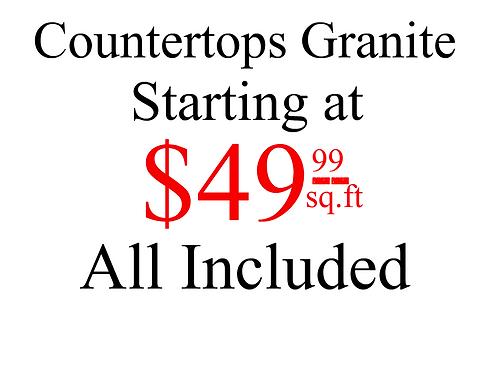 Promotional Pricing Granite Mirage